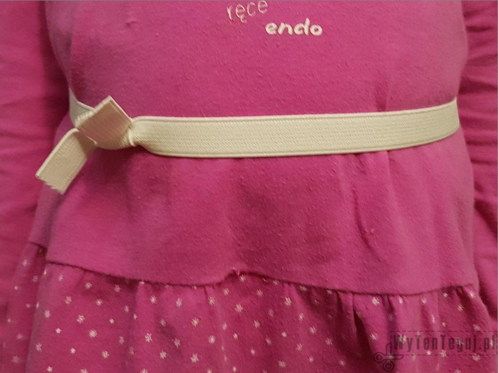 Tutu skirt in progress