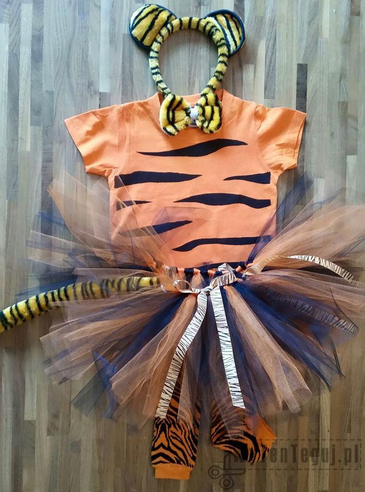 Gotowe przebranie tygrysa