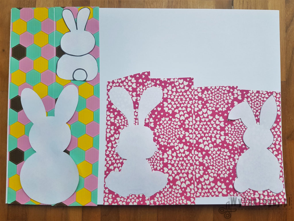 Easter cards in progress