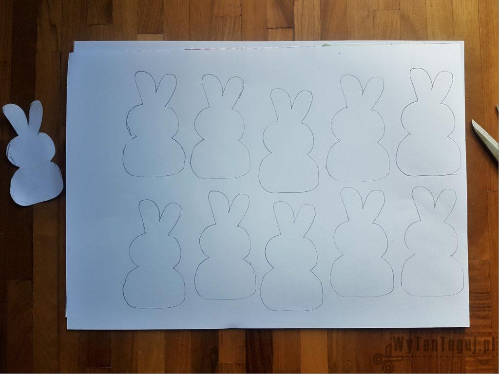 Bunnies outline
