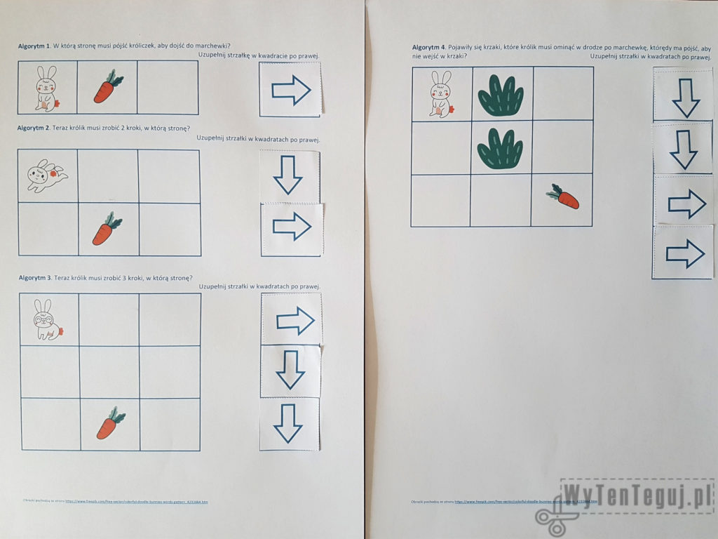 Sample solution - algorithms 1-4