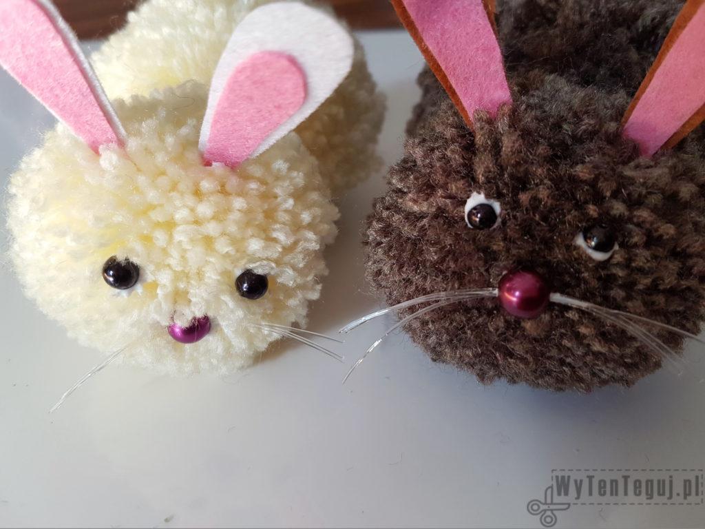 Gluing bunnies' details
