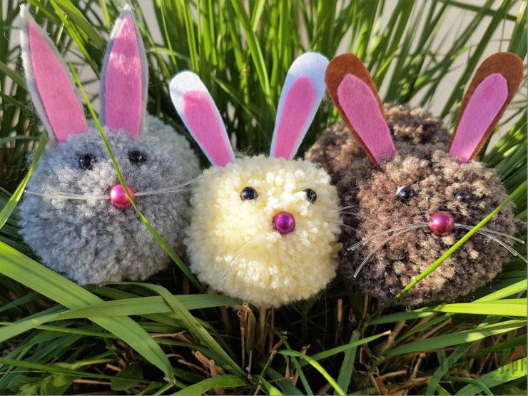 Pom pom bunnies