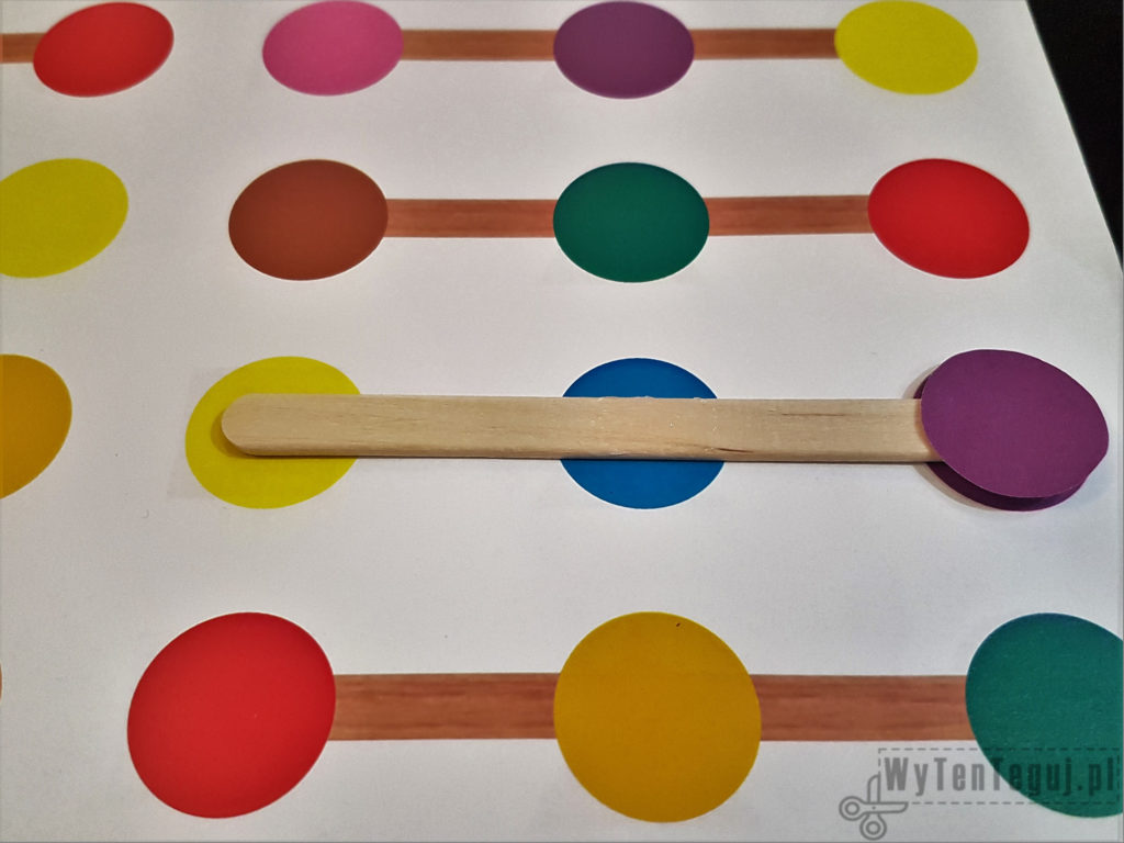 Preparation of colors and shapes matching