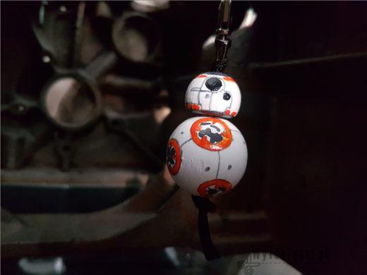 Breloczek droid BB8