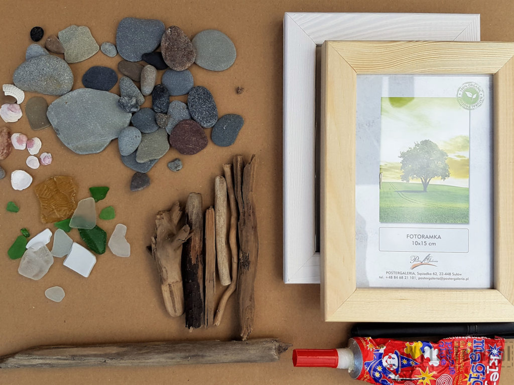 Supplies for sea glass art
