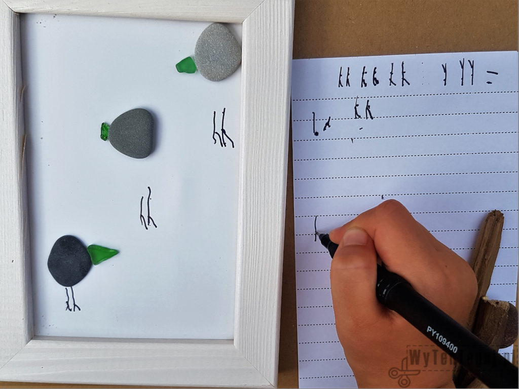 How to draw the legs of a gull