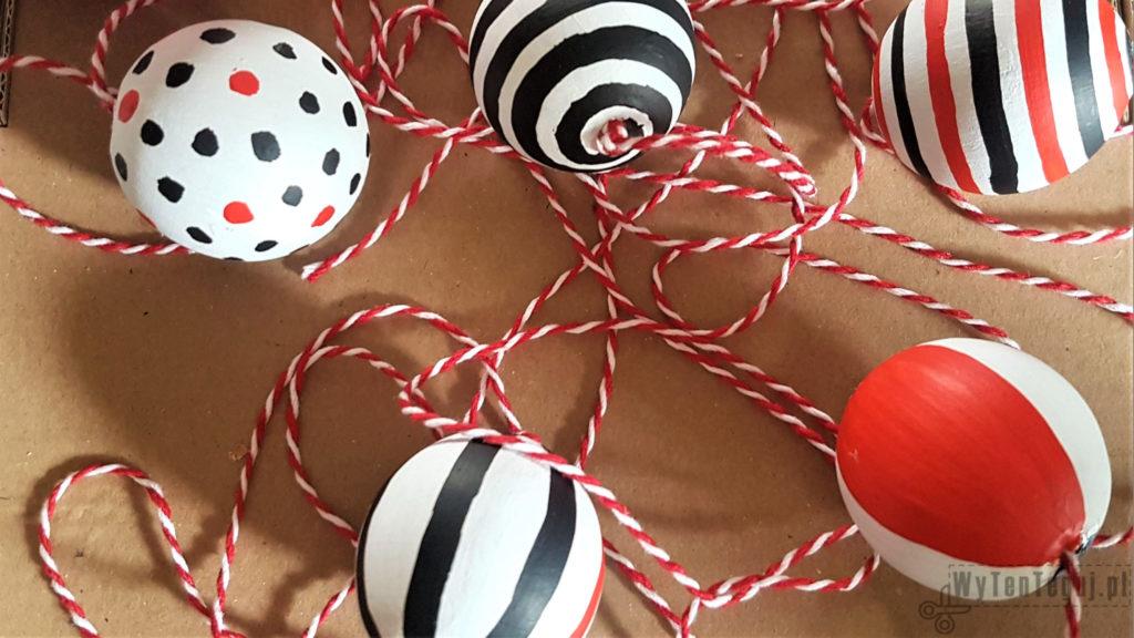 Wooden balls for Montessori Mobile