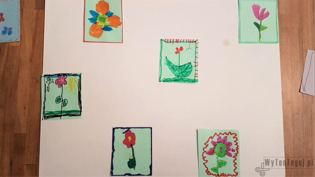 Completing the floral mosaic for a Teacher
