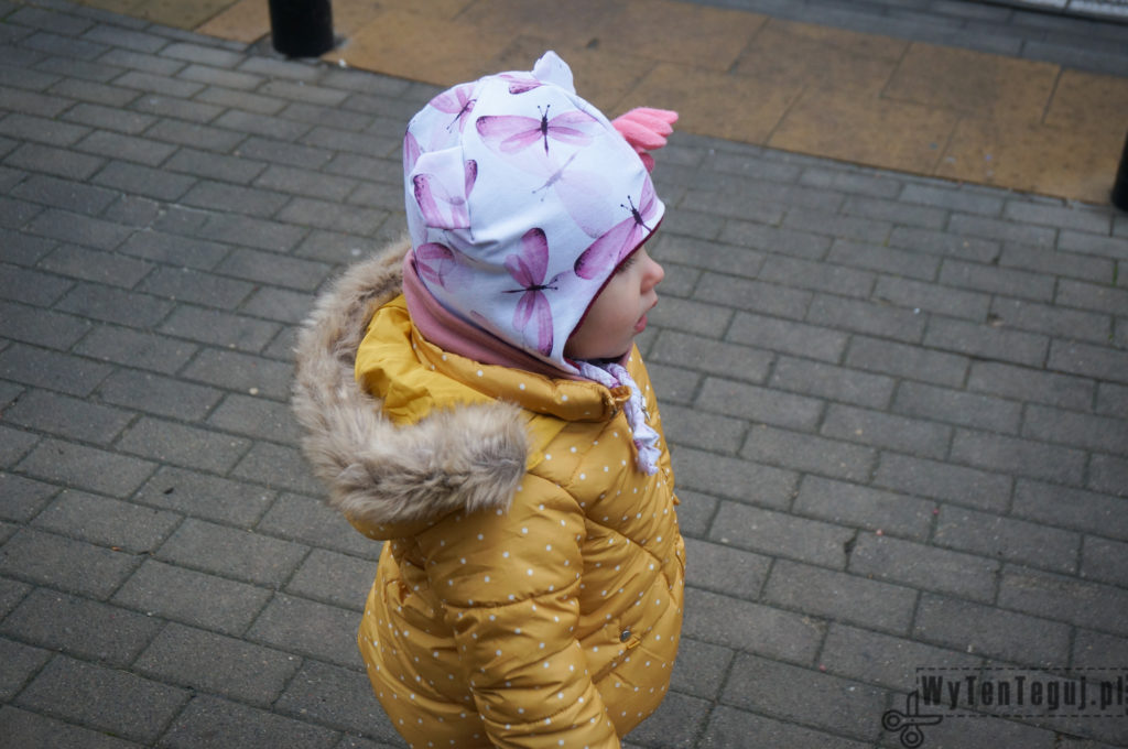 Winter hat with ear flaps