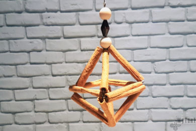 Cinnamon stick ornament in Scandinavian style