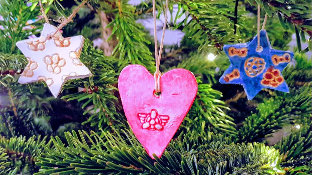 Paw patrol clay ornaments