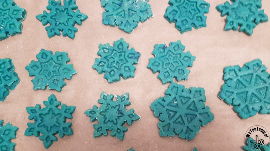 Winter cookies Frozen party snacks