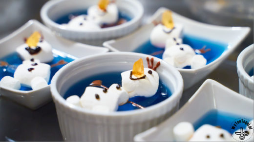Frozen party snacks