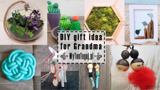 DIY gift idea for grandma