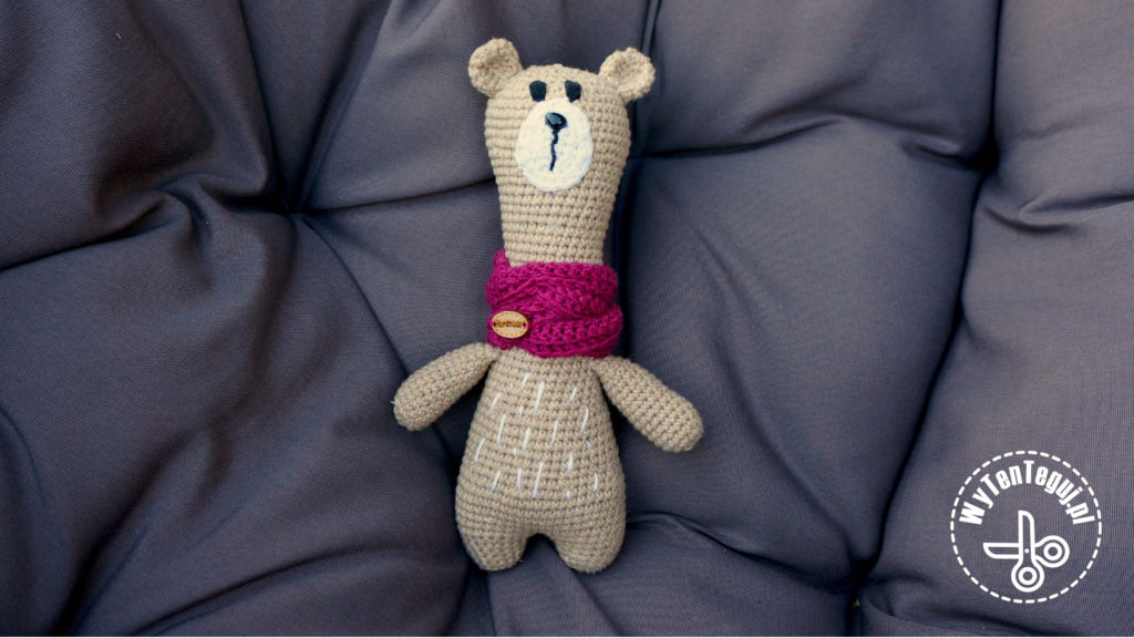 amigurumi Oliver the bear