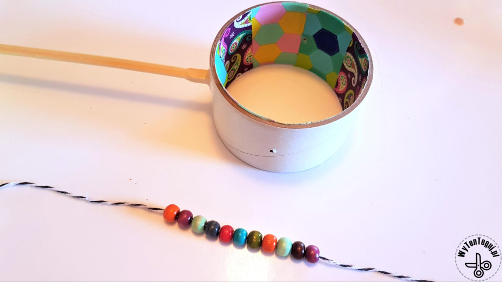 Beads for drum interior