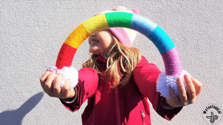Rainbow wreath #letsallbewell #stayhome