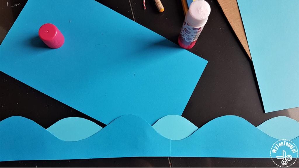 Cardboard waves