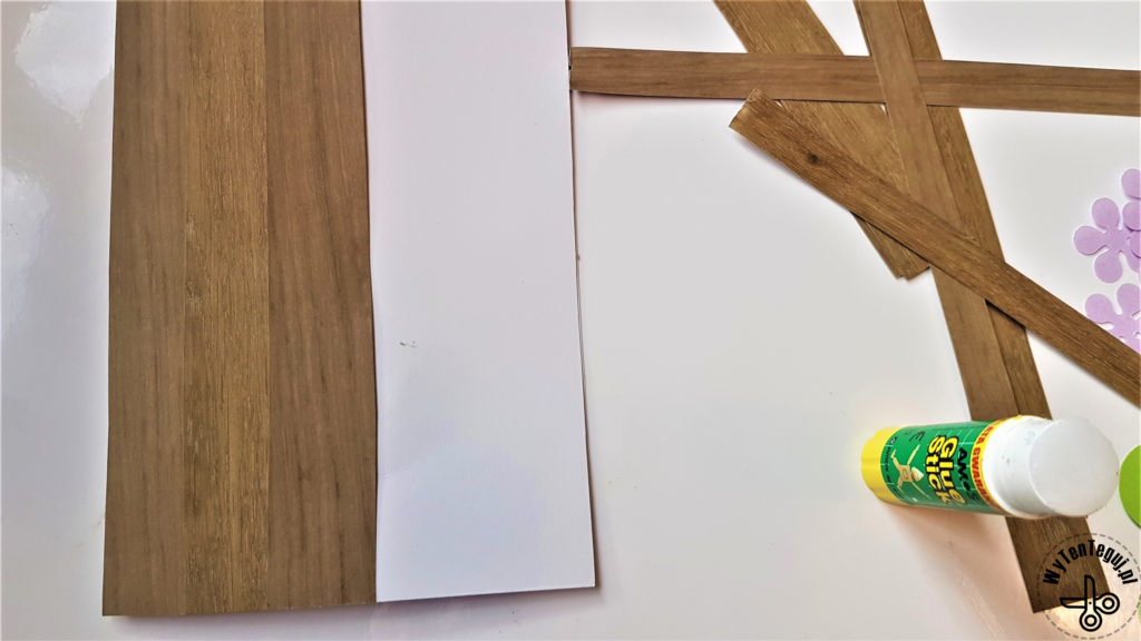 Making the wooden door