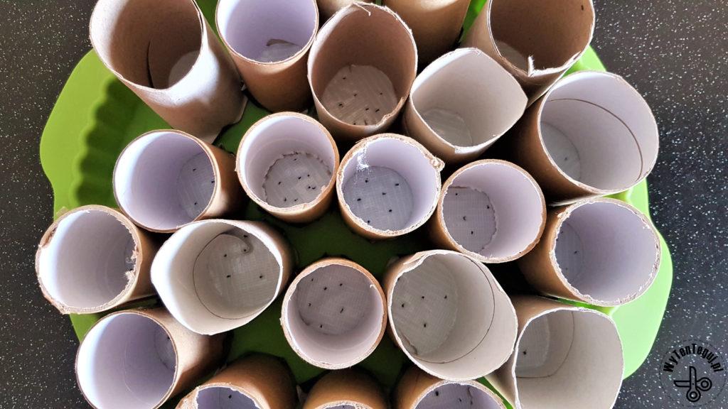 Paper roll pots