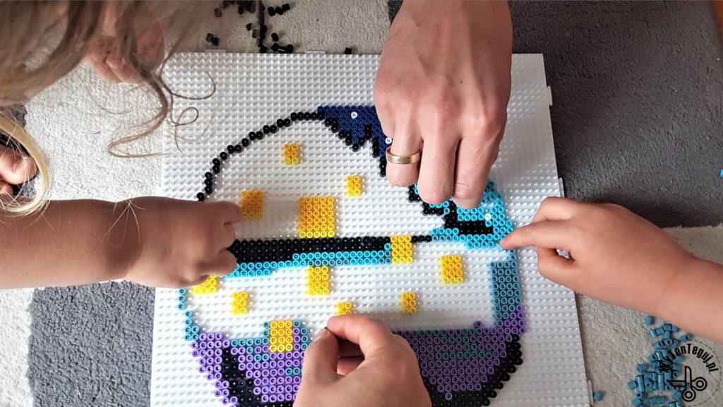 Family perler bead activity