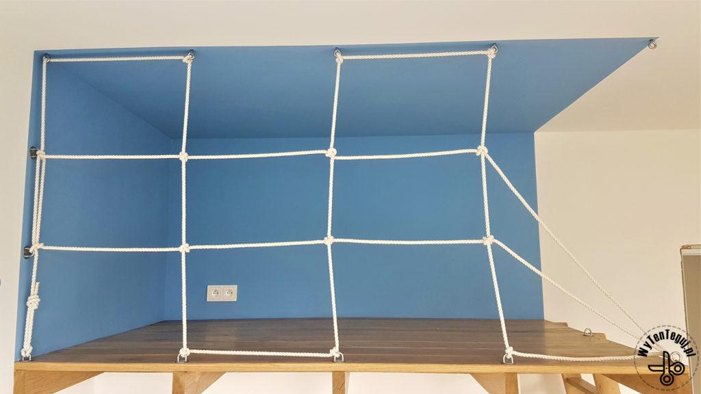Making of climbing net