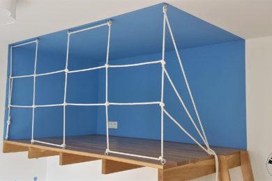 Climbing net DIY