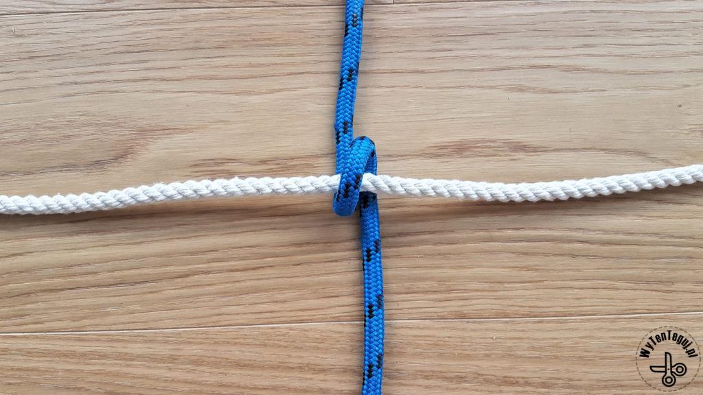 Jak zrobić węzeł siatkowy - krok 2