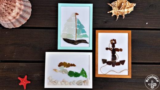 Morskie obrazki ze szkiełek