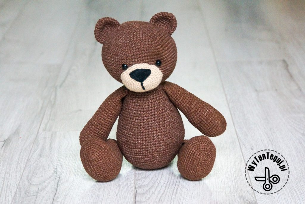 Chocolate teddy bear - final