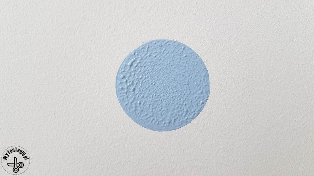 Painting dots on a wall
