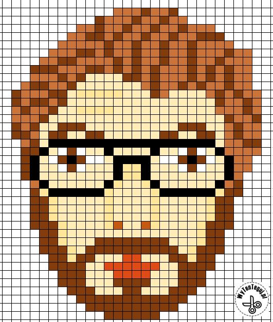 Professor perler beads