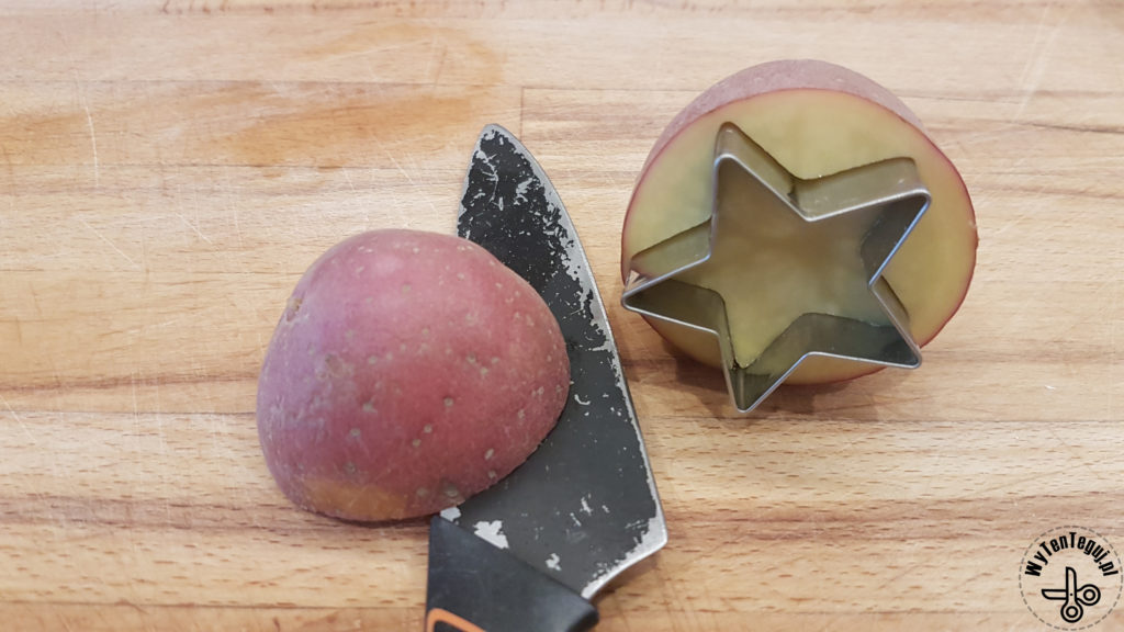How to make potato stamps?