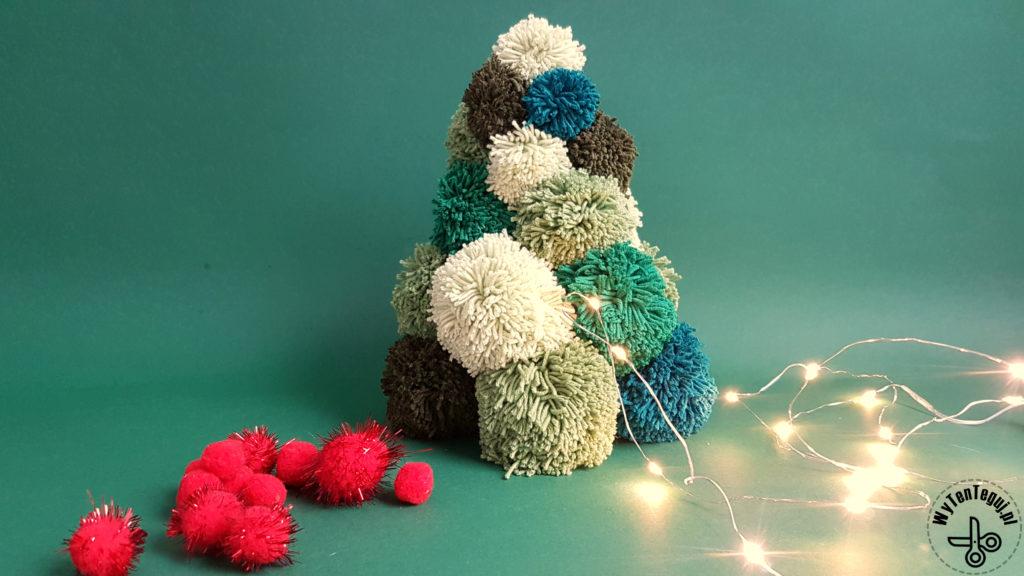 How to make pom pom Christmas tree