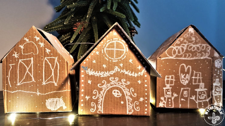 Gingerbread house boxes