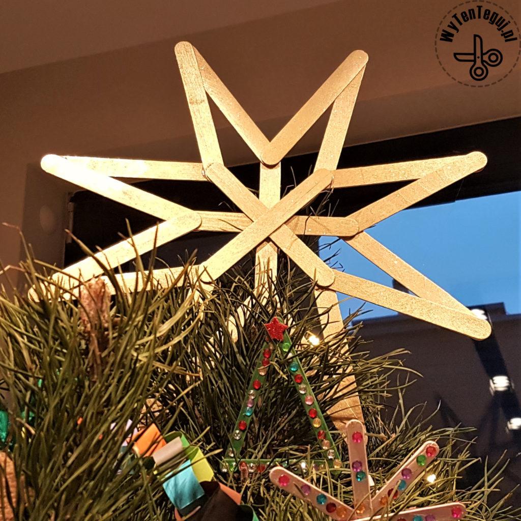Popsicle sticks star