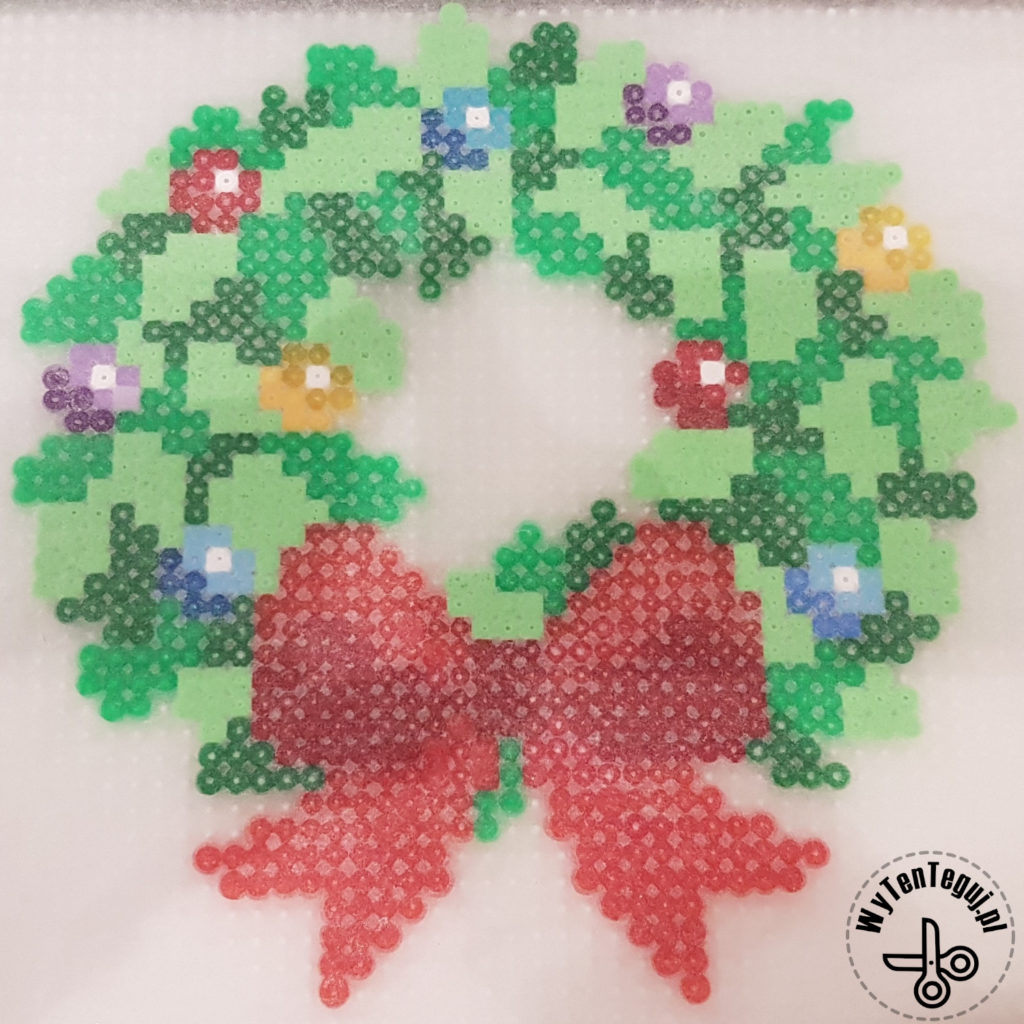 Ironed wreath