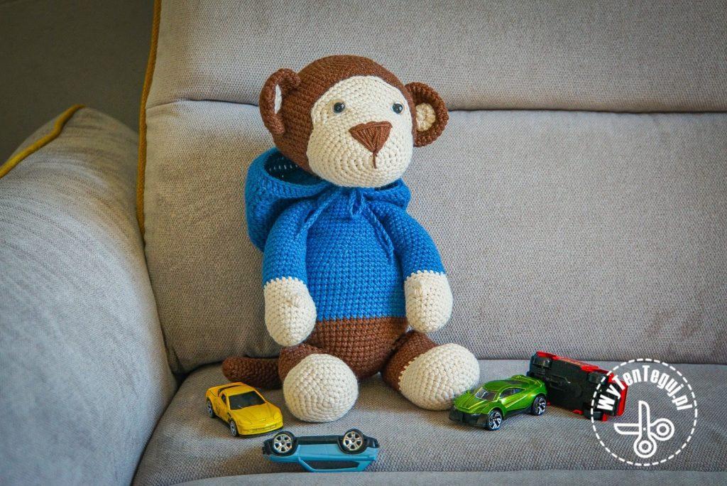 Monkey in the hood