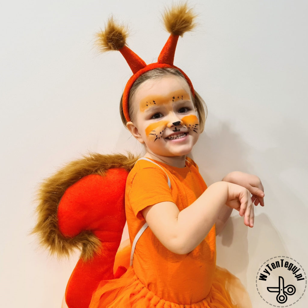 Squirrel tutu costume