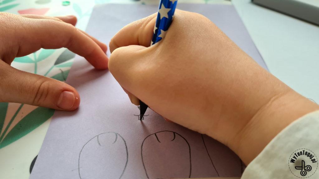 Rysowanie pyszczka królika