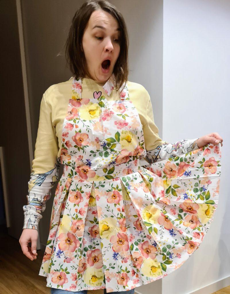 Dress like apron by Sielskie Anielskie