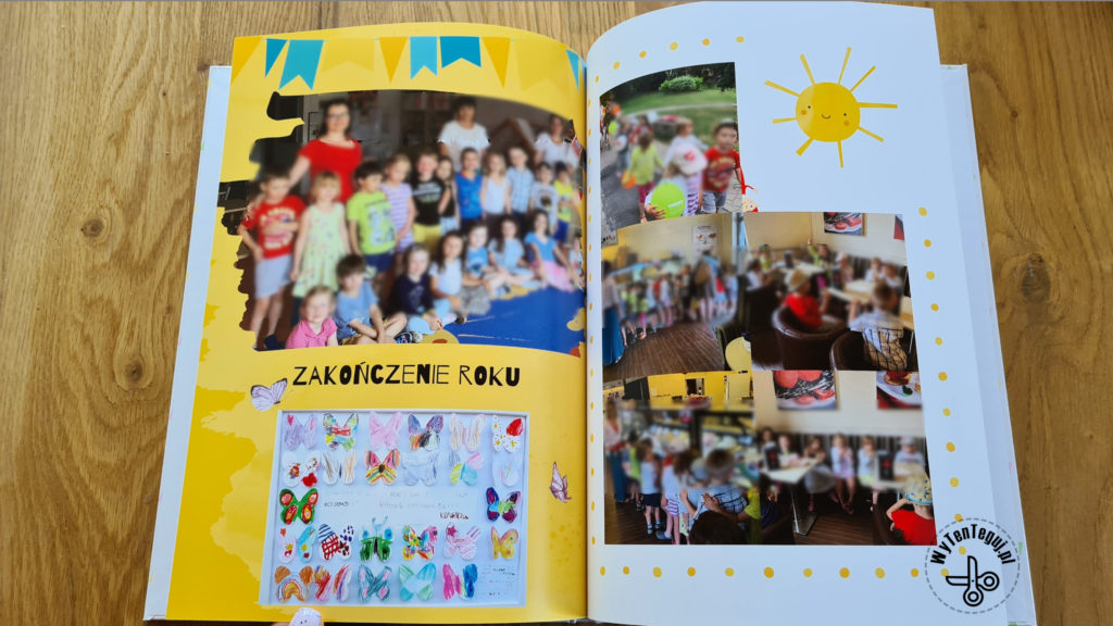 Photobook gift for a teacher