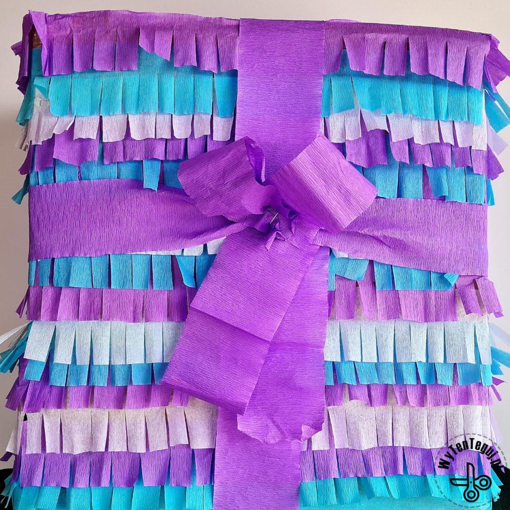 Pinata with ribbon