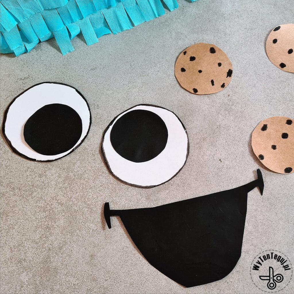 Cookie monster pinata