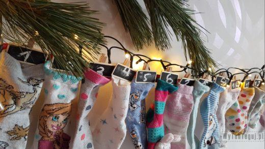 Advent calendar with socks