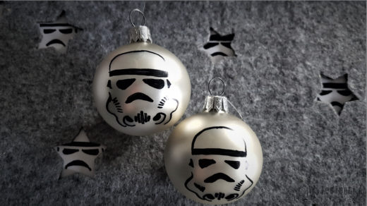 Stormtrooper Christmas bauble