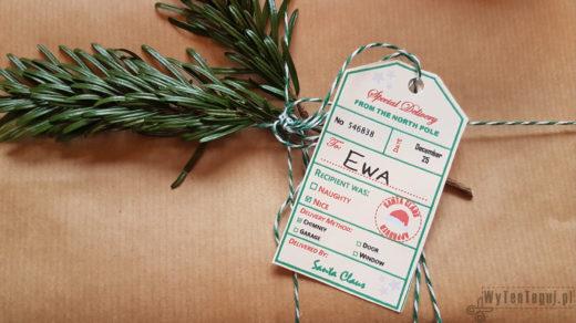 Gift tags Santa approved