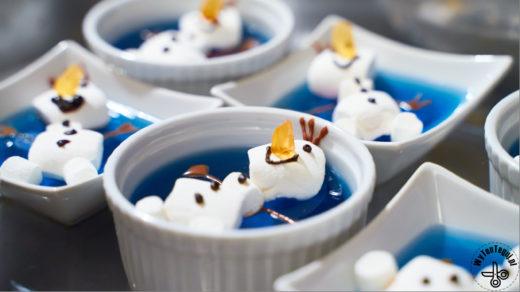 Frozen party snacks
