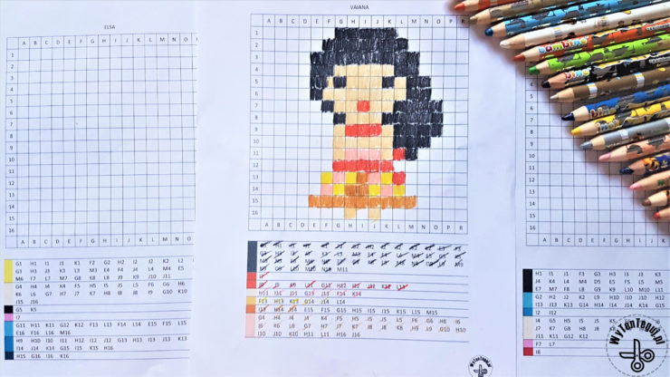Coded pictures Disney princess